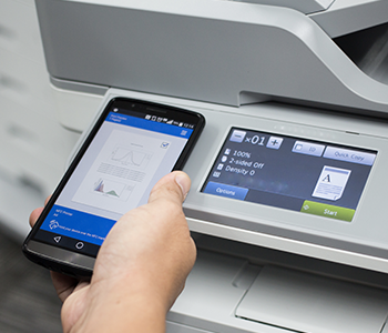Liez votre smartphone à votre imprimante