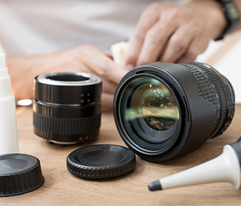 Nettoyez votre appareil photo avec un kit de nettoyage