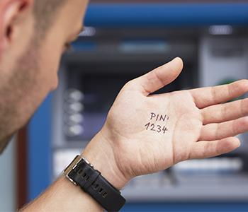 Retenez votre code PIN en l'écrivant