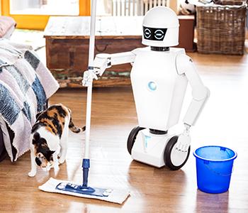 Utiliser un robot domestique