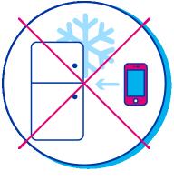 En cas de surchauffe, ne placez jamais votre Iphone dans le frigo