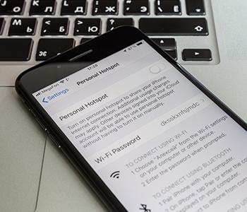 Utilisez votre iPhone comme modem
