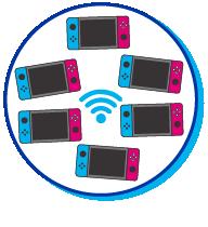 Pictogramme de switchs connectées