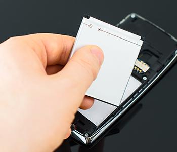 Gardez une batterie de secours en cas de téléphone déchargé