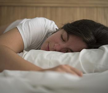 Adolescent endormi