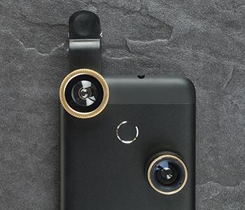 Accessoire objectif photo de smartphone
