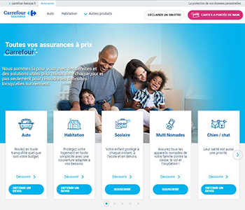 Site Internet Carrefour Assurance