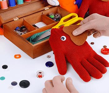 Création de marionnettes