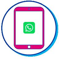 Picto Whatsapp tablette
