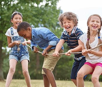 Activité sportive enfants