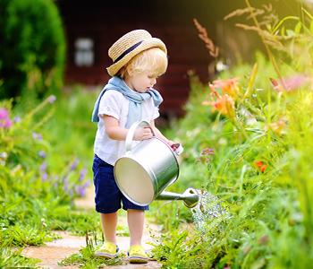 quel age pour jardiner