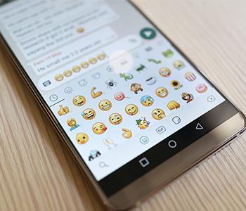 Insérez des emojis dans vos messages