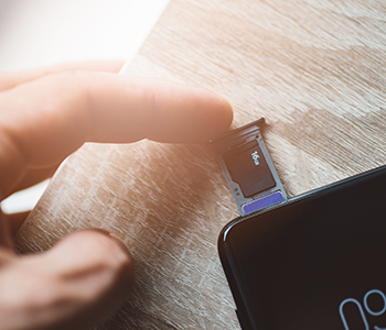 Installez une carte micro SD pour sauvegarder vos données