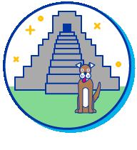 Picto chien temple