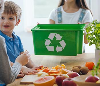 Trier les déchets avec ses enfants