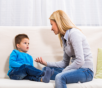 Discussion parent enfant