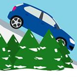 voiture sur la neige