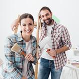 couple en rénovation