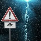 signalisation orage