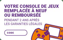 carte console de jeux